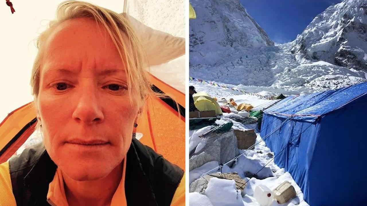 Siobhan McFeeney of San Francisco was on Mount Everest when a devastating earthquake hit Nepal on April 25, 2015.