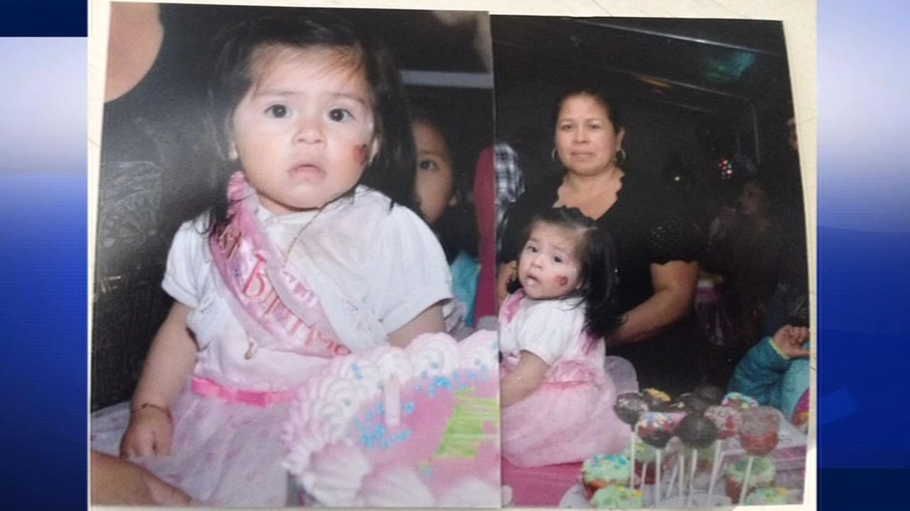 Esperanza Morales, 46, and her 14-month-old daughter were hit and killed by a suspected drunk driver in Livermore, Calif. on May 2, 2015.