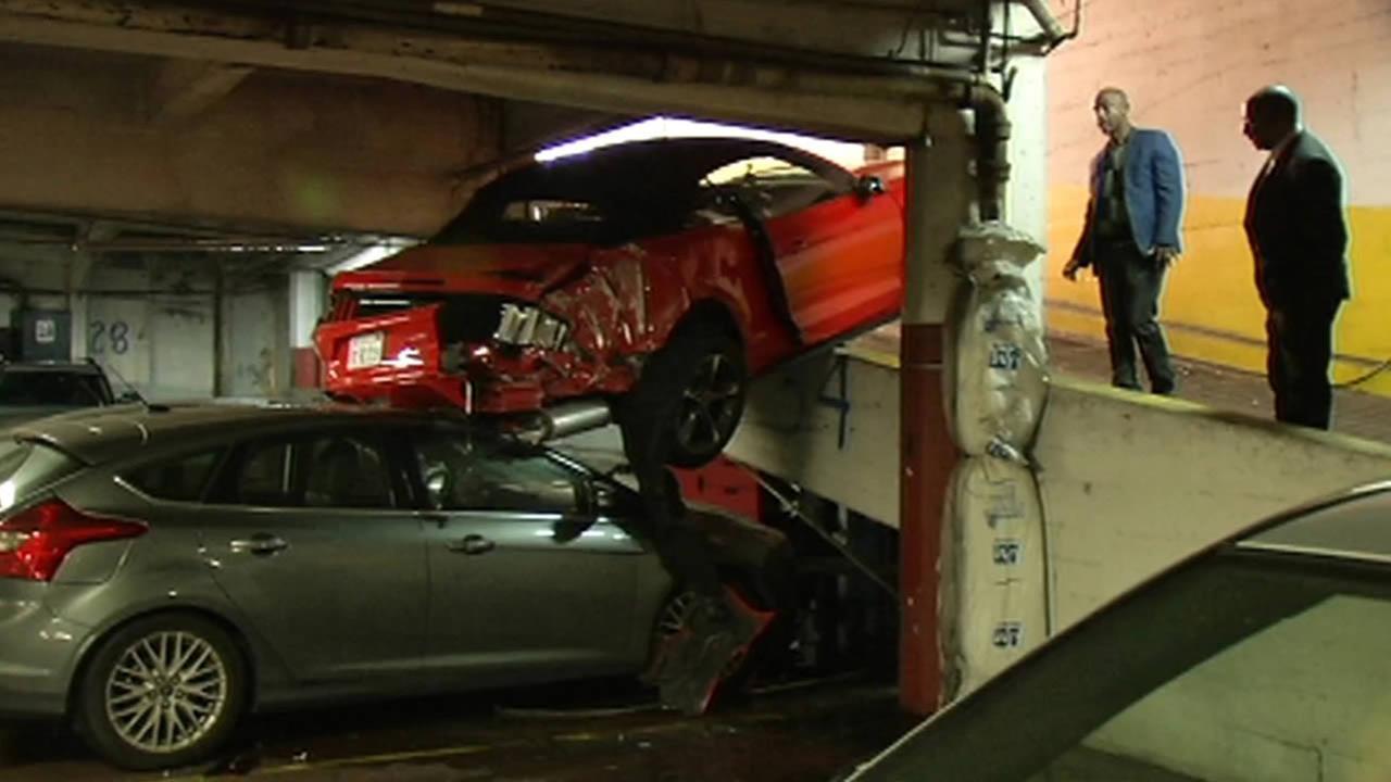 Accident in San Franciscos Tenderloin neighborhood