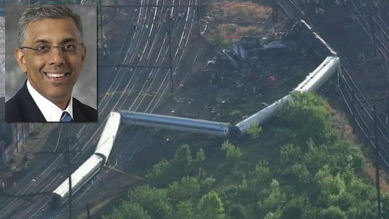Former Walnut Creek, Calif. resident Abid Gilani died when an Amtrak train derailed in Philadelphia on May 12, 2015.