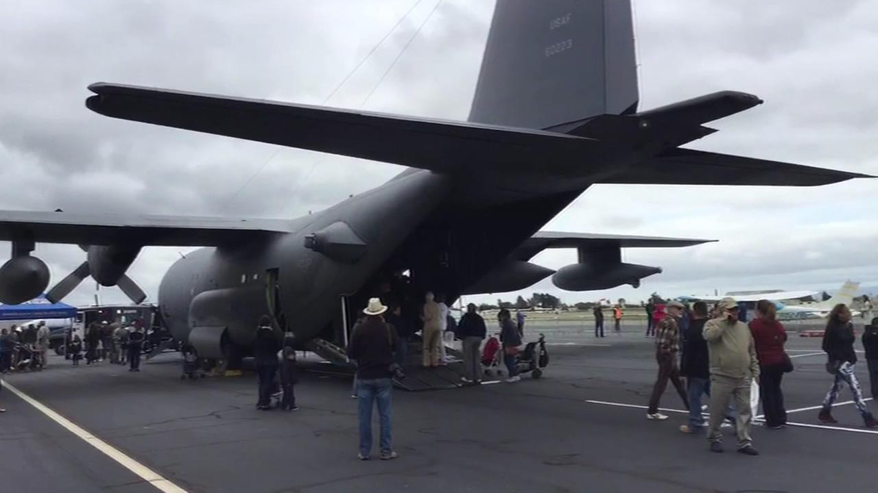 plane at Hayward airport