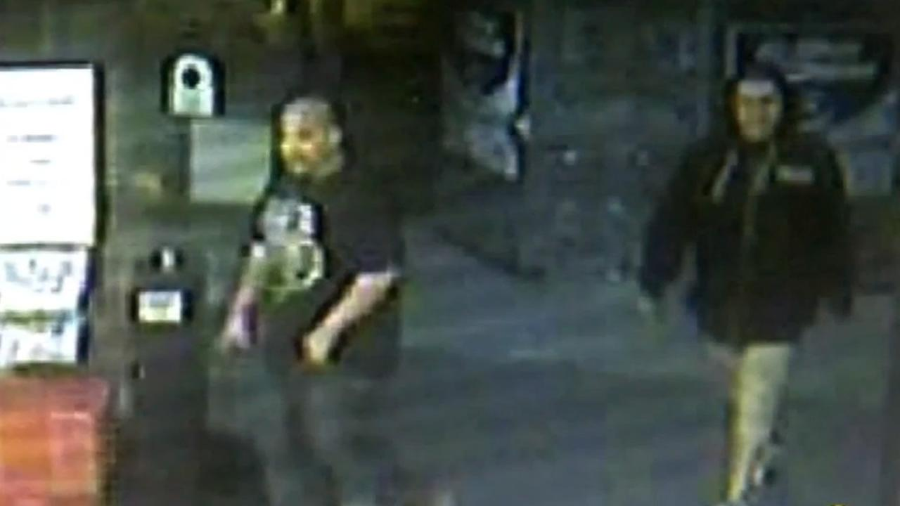 Police say two men attacked a supermarket janitor in Madera, Calif. on Saturday, May 16, 2015 because he was wearing the color blue.