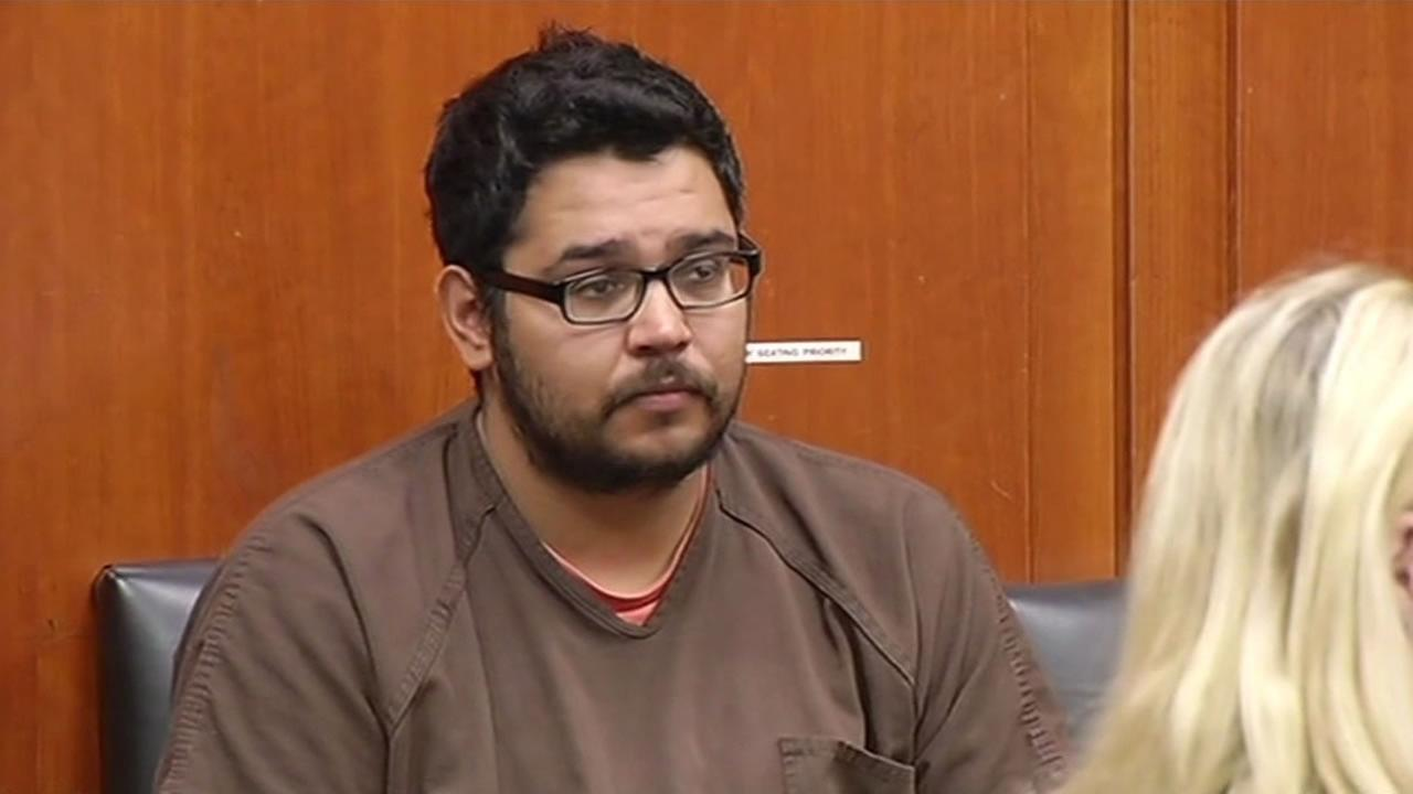 Former Walden West camp counselor Edgar Covarrubias appeared in Santa Clara County Superior Court in San Jose, Calif. on Wednesday, May 20, 2015