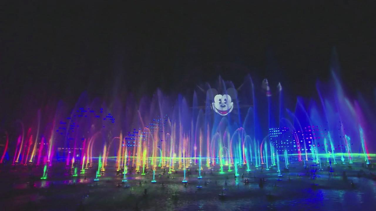 On May 20, 2015, the Disneyland resort in Southern California premiered an all-new show, World of Color - Celebrate! at Disney California Adventure park.