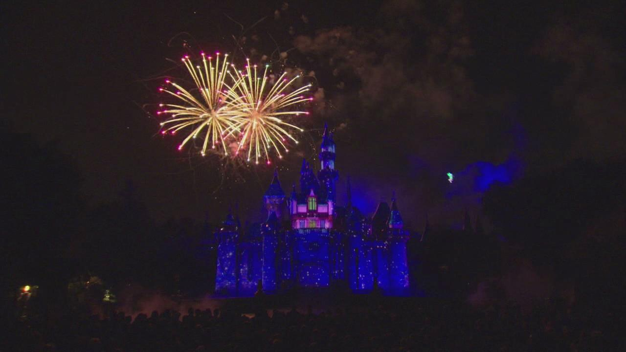 The Disneyland Forever fireworks show premiered in Anaheim, Calif. on May 21, 2015.