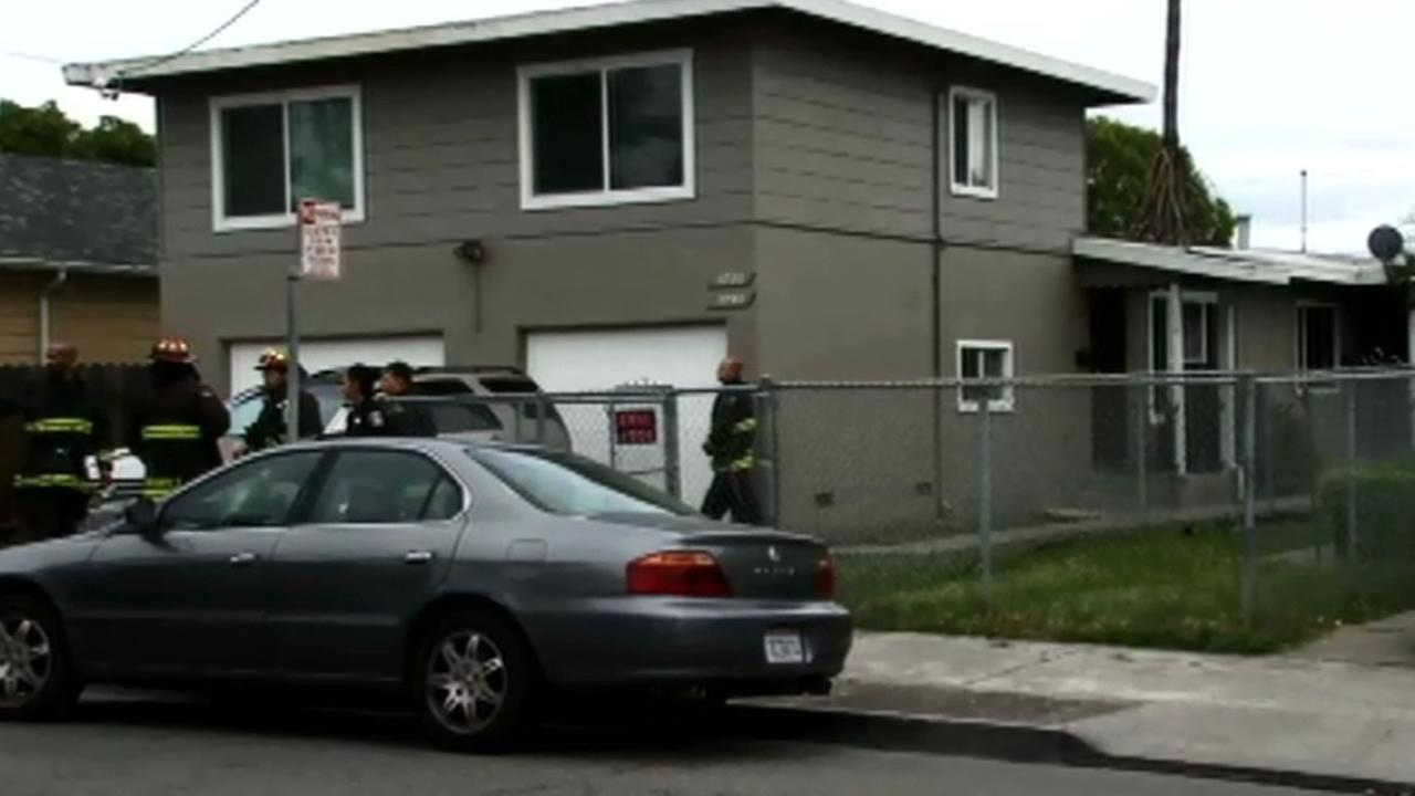 Oakland home where a woman died in a fire