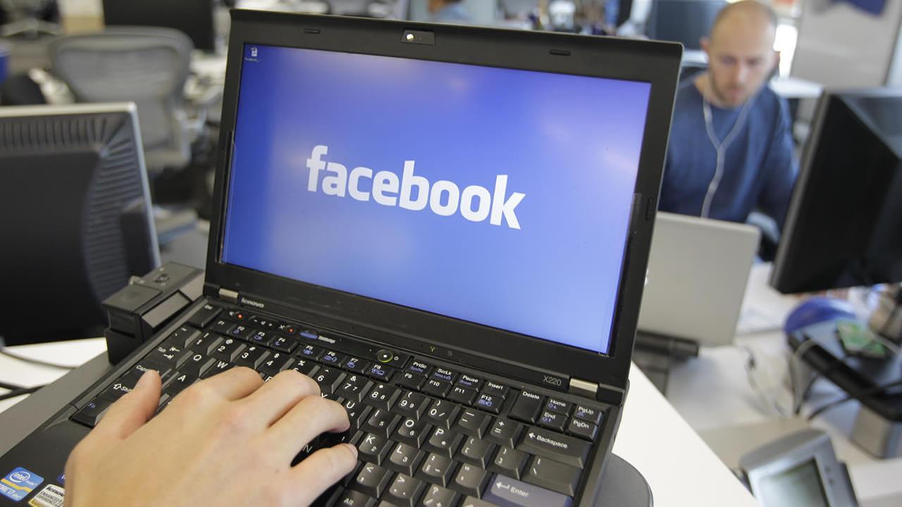 This Feb. 8, 2012 file photo shows a view inside Facebook headquarters in Menlo Park, Calif. (AP Photo/Paul Sakuma, File)
