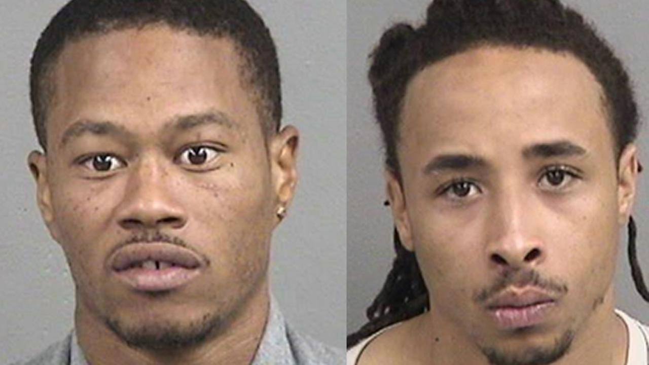 Mugshot of Darius Swain, left, and Ivin Prince, right.