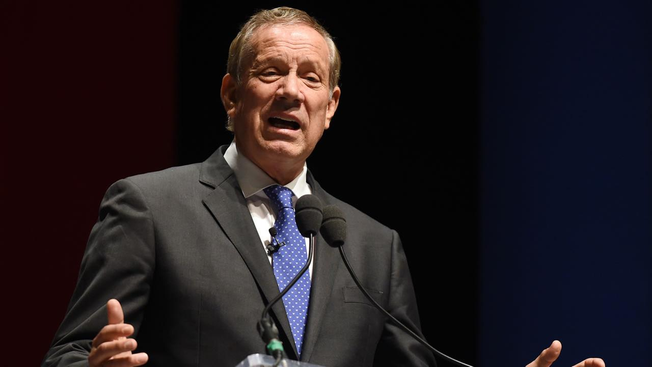 Former New York governor George Pataki speaks at the Freedom Summit, Saturday, May 9, 2015, in Greenville, S.C.