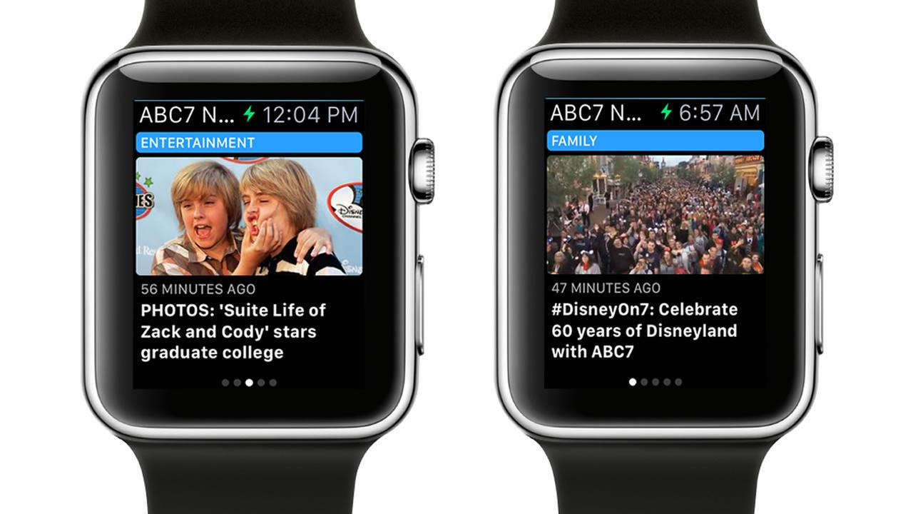 Check out ABC7 News on the Apple Watch