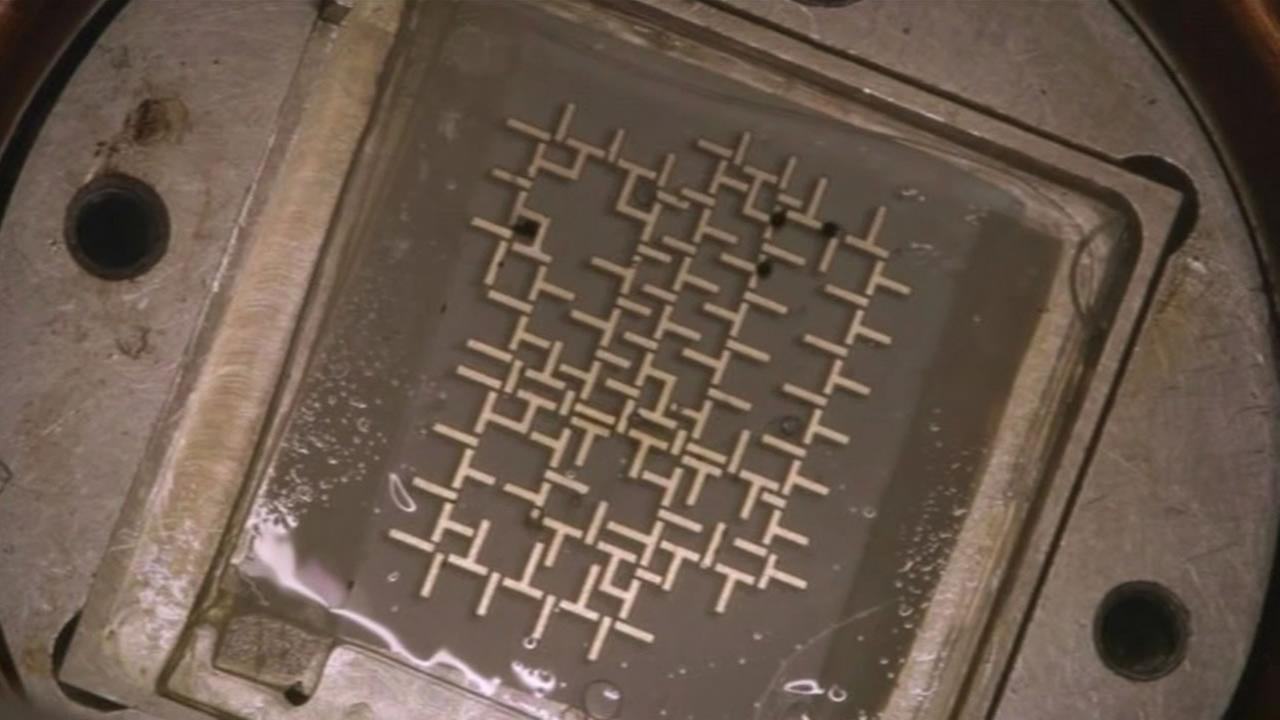 A Stanford University professor developed a computer chip that uses moving water, instead of electrons.