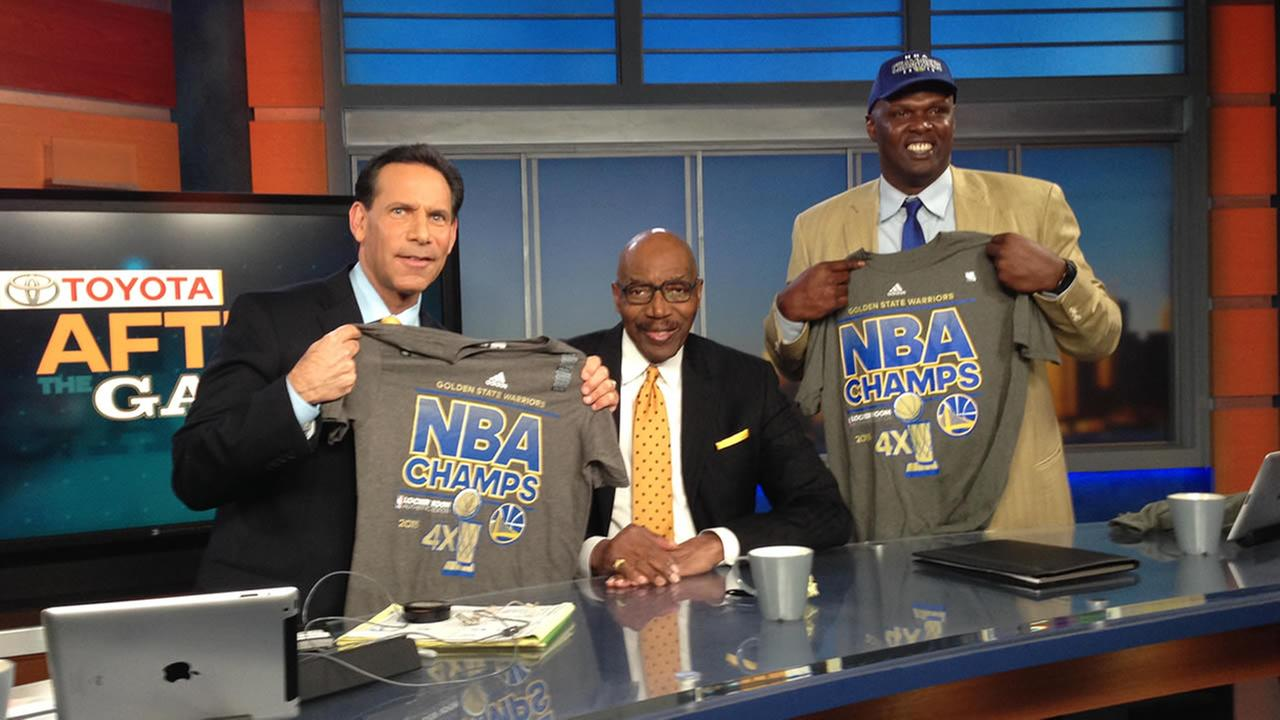 Larry Beil, Nate Thurmond, and Adonal Foyle