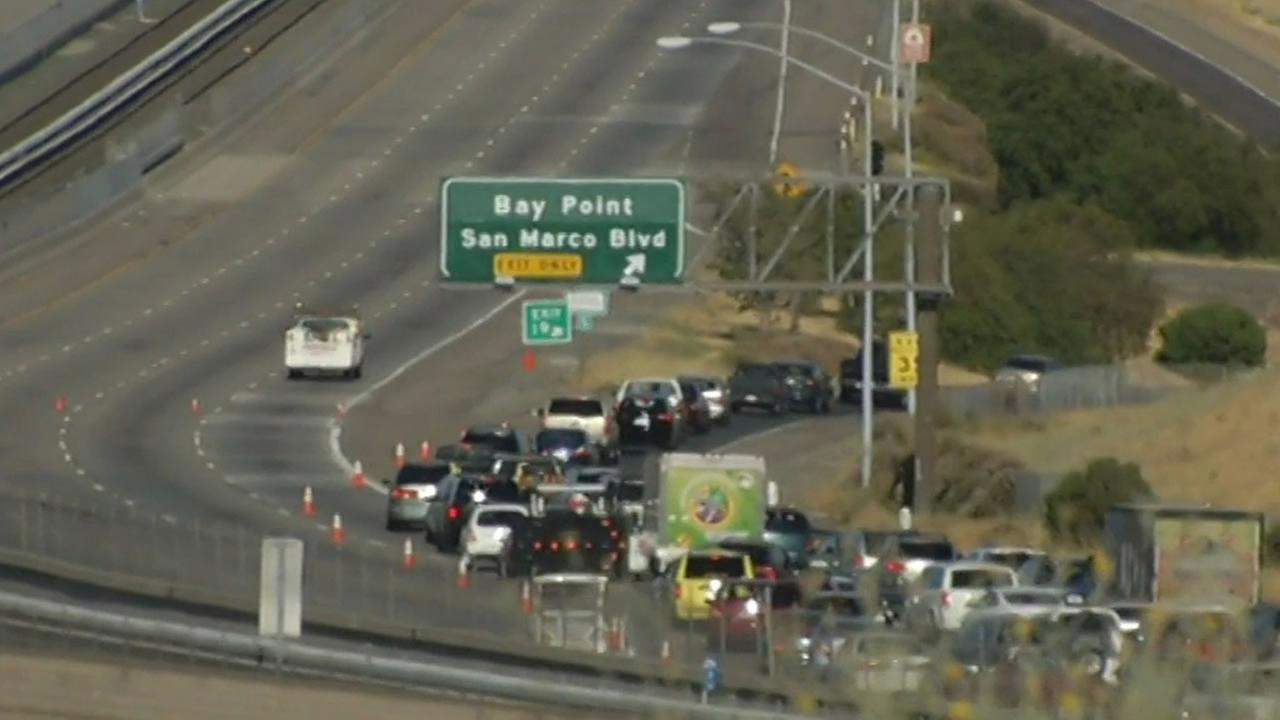 CHP officials are investigating a fatal shooting on Highway 4 near San Marco Boulevard in Pittsburg on Saturday, June 20, 2015.