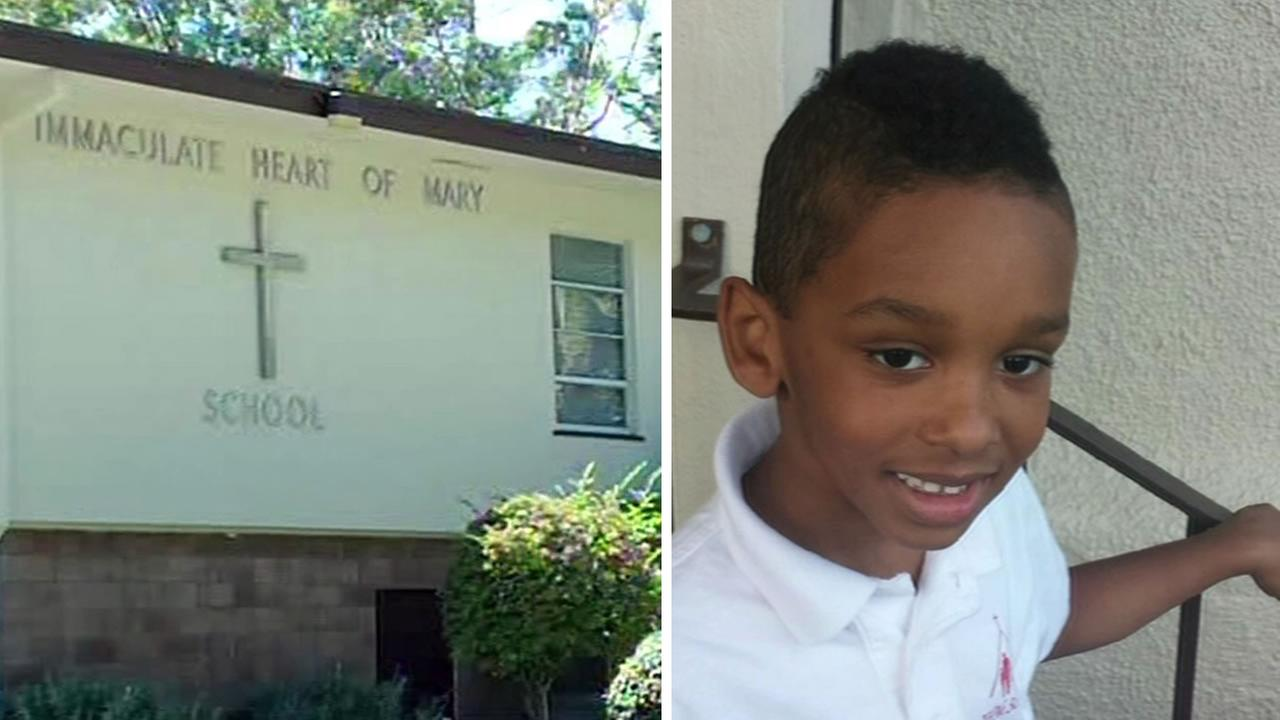 In December 2014, 6-year-old Jaylyn Broussard was kicked out of his class at Immaculate Heart of Mary Catholic School in Belmont, Calif. because of his haircut.