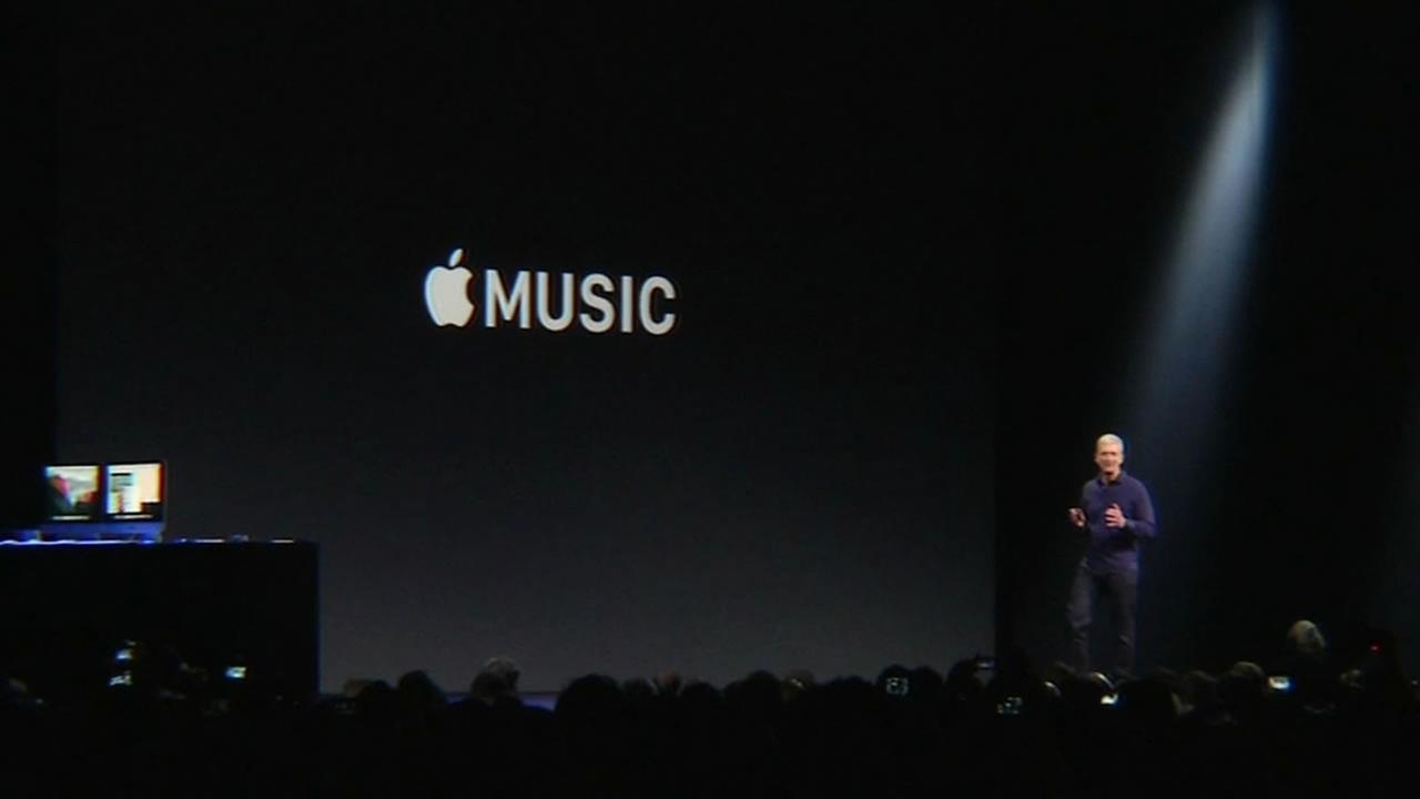Apple is launching its new music streaming service, called Apple Music, at 8 a.m. on Tuesday, June 30, 2015.