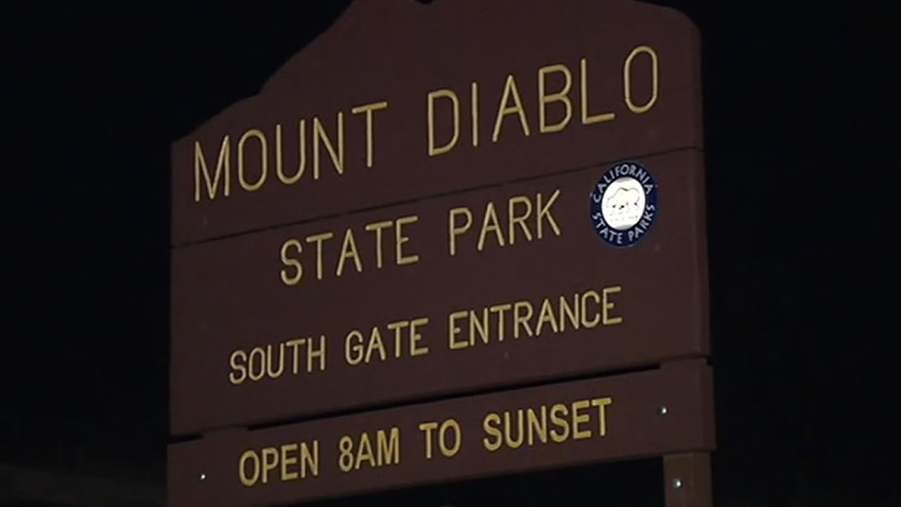 Mount Diablo State Park sign