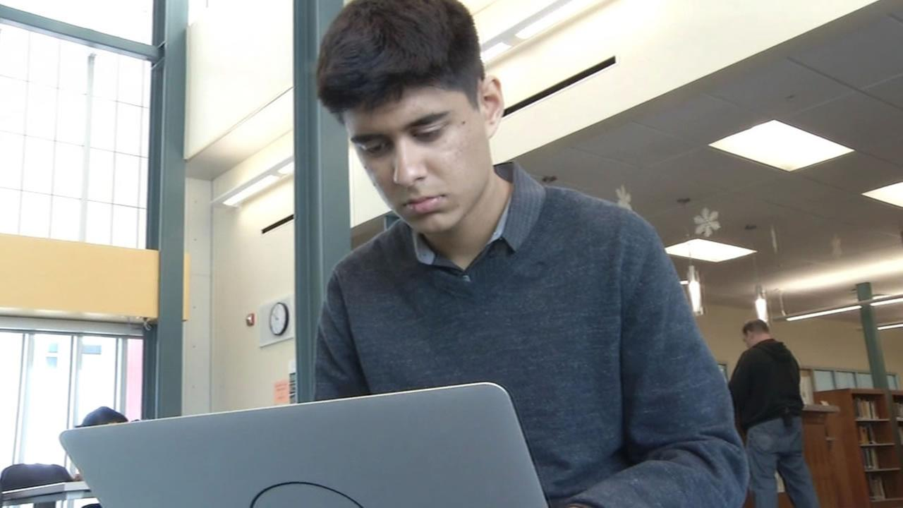Recent Cupertino High School graduate Tanay Tandon is headed to Stanford University where he plans to study computer science.