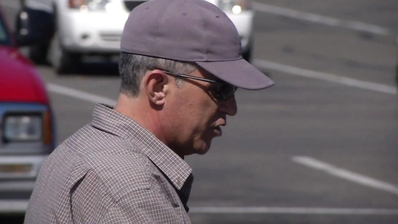 Chuck Lyman is seen after being confronted by the I-Team at a Sonoma County parking lot in March 2014.