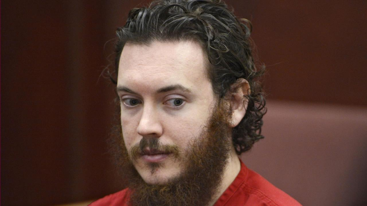 This June 4, 2013 file photo shows Aurora theater shooting suspect James Holmes in court in Centennial, Colo.