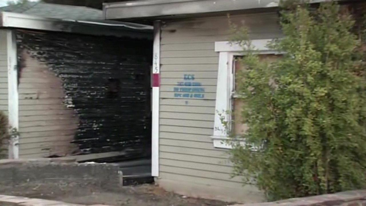 Ten people have been displaced by a fire in Vallejo, Tuesday, July 21, 2015.