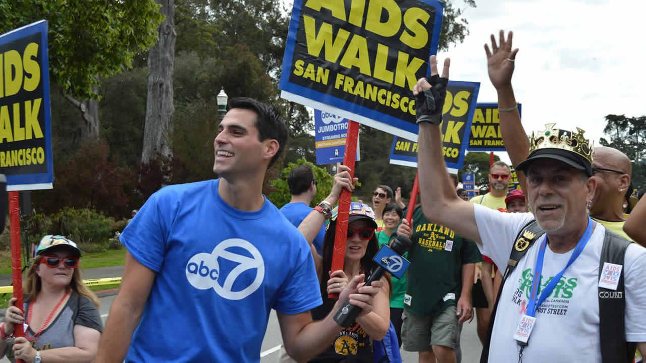 ABC7 is proud to support AIDS Walk San Francisco for the 28th year in a row. The event took place in Golden Gate Park on Sunday, July 19, 2015.