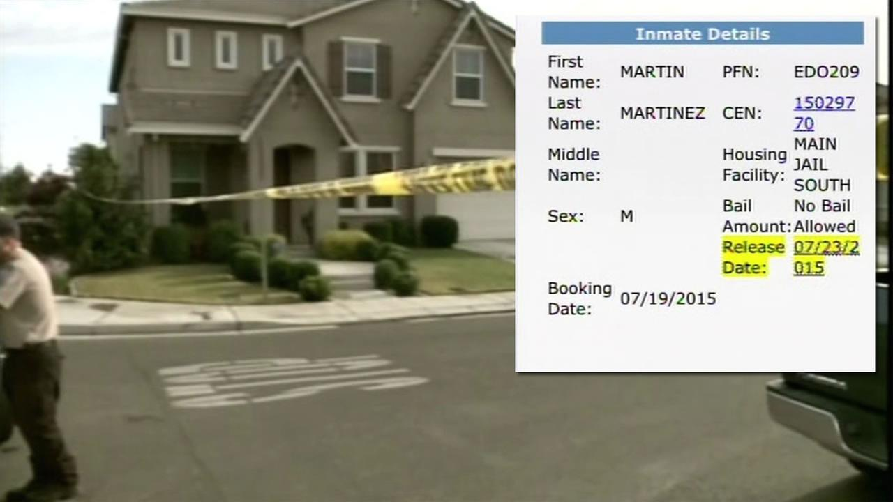 Modesto police obtained a Ramey Warrant for arrest of Martin Martinez in connection with mass murder of five people and an earlier homicide involving a 2-year-old child.