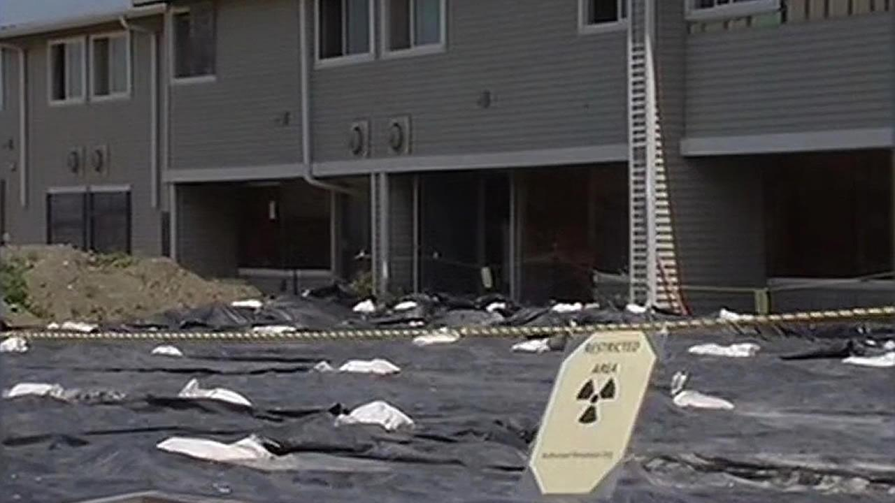 Officials will be checking hundreds of homes on Treasure Island to test for possible radiation contamination.