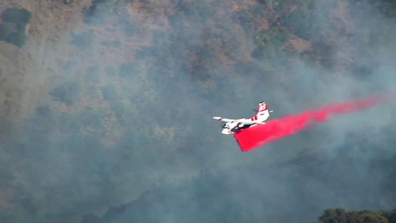 It takes a special sort of pilot to fight wildfires but lately drones are making their job even tougher.