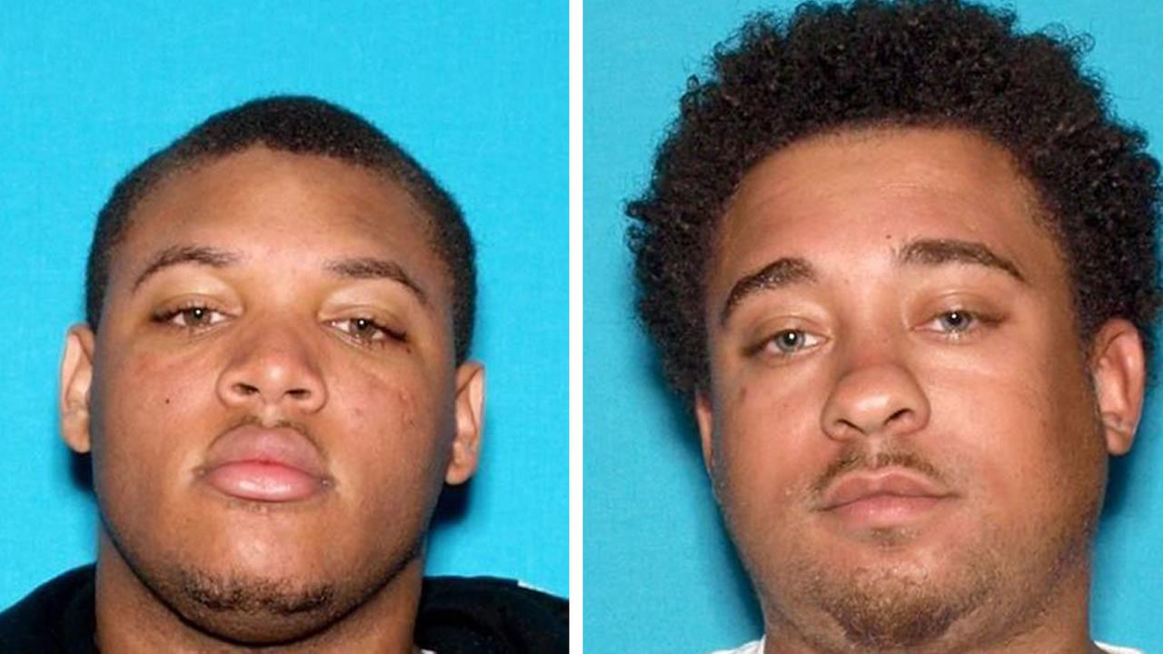 Vallejo police arrested Michael Jones, 24 (left) and John Brumfield, 24, (right) in a possible kidnapping of a 3-month-old baby, July 24, 2015.