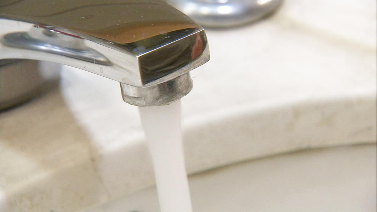 A running faucet is shown in this undated file photo.