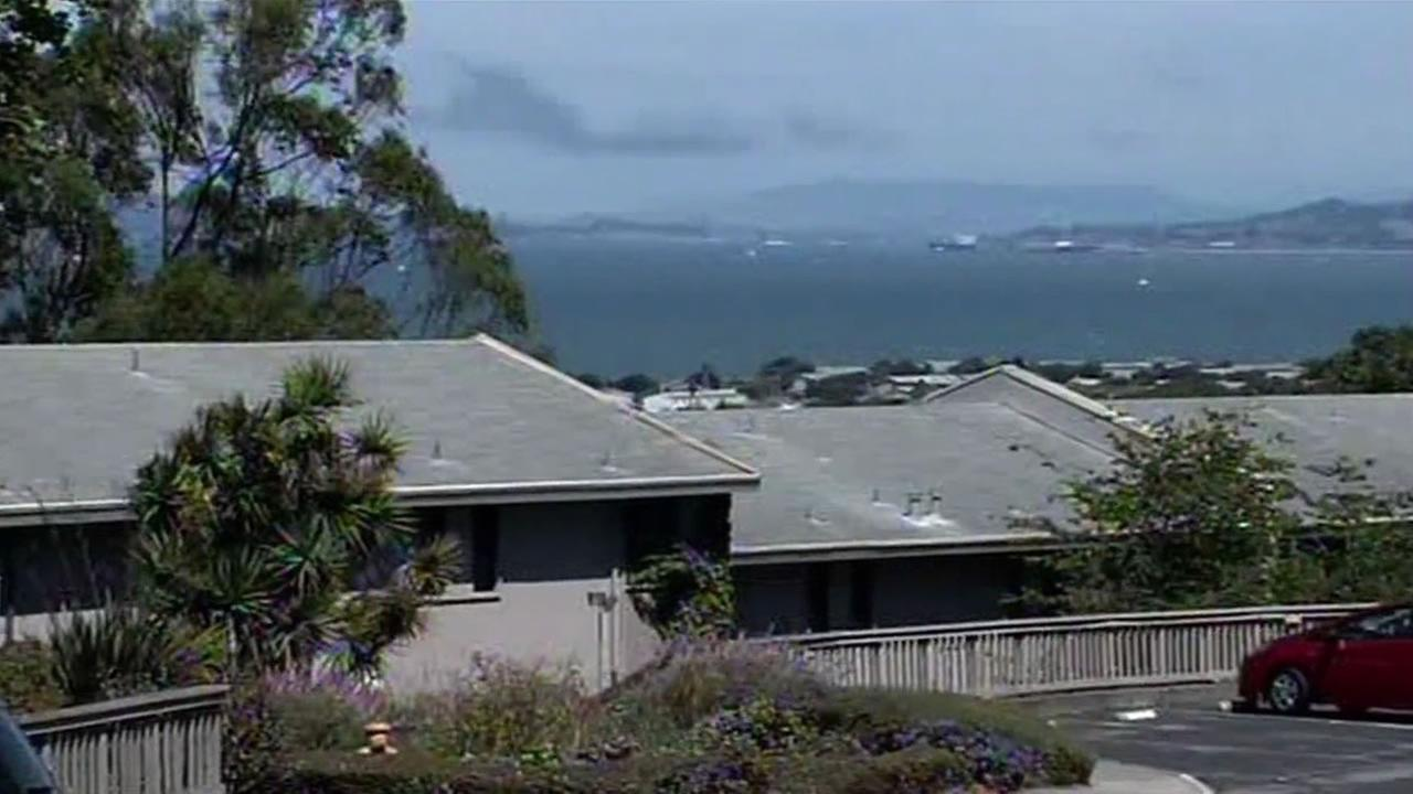 About 100 people live on Yerba Buena Island, enjoying spectacular views and affordable rents.