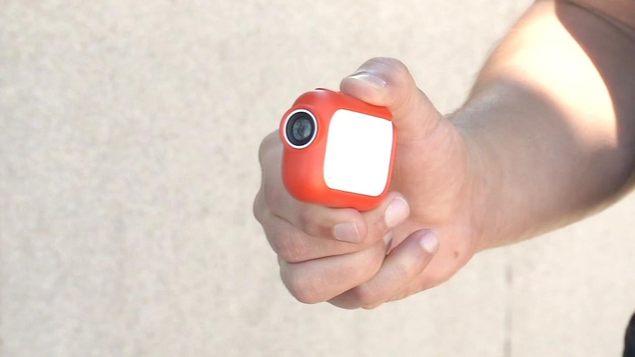 A Graava camera is shown in San Francisco on Wednesday, August 12, 2015.