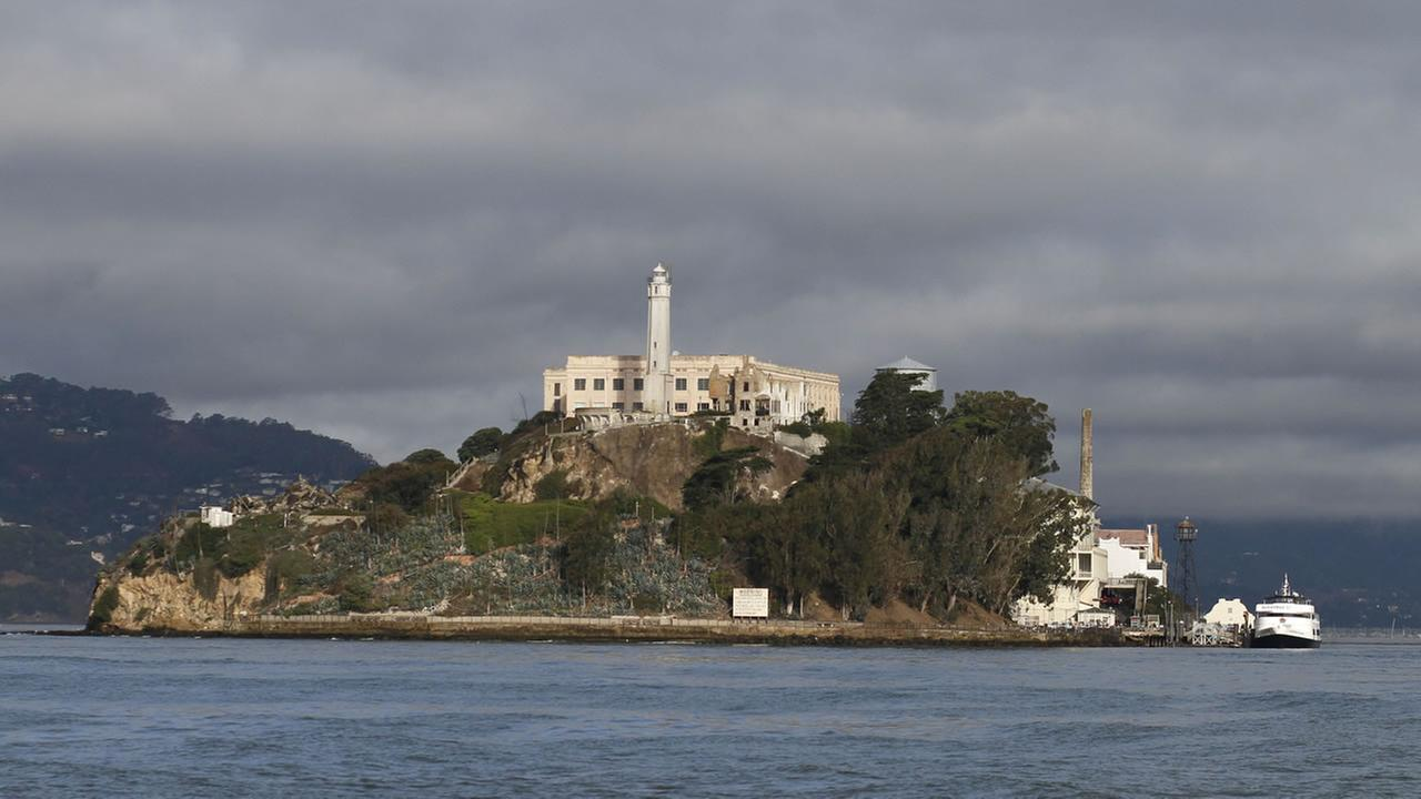 Alcatraz Island is shown Wednesday, Sept. 24, 2014, in San Francisco.