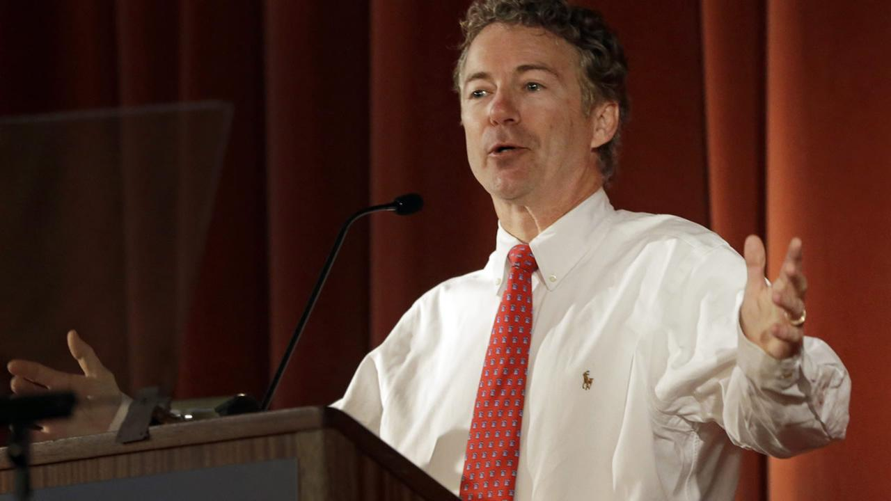 U.S. Sen. Rand Paul, R-Ky., speaks at the Berkeley Forum, Wednesday, March 19, 2014, in Berkeley, Calif.