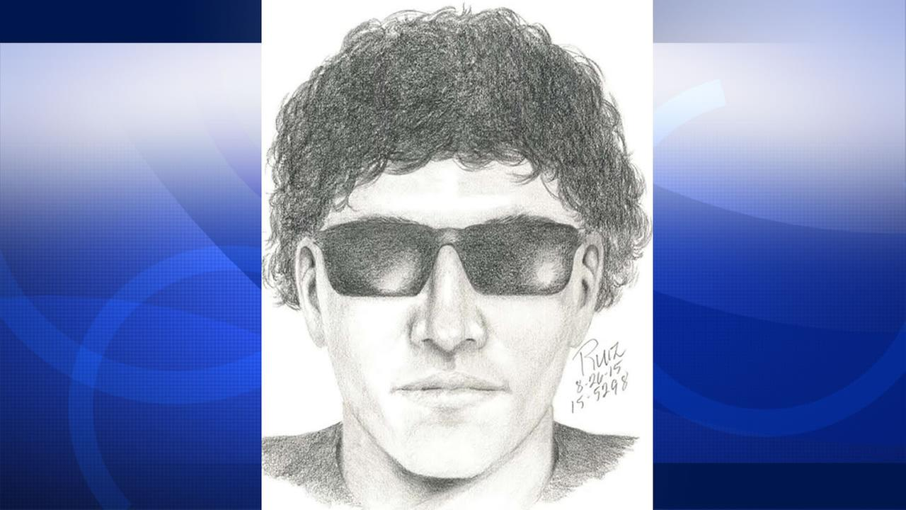 Palo Alto police are searching for a man who allegedly exposed himself to a woman near Monore Park, Tuesday, August 26, 2015.