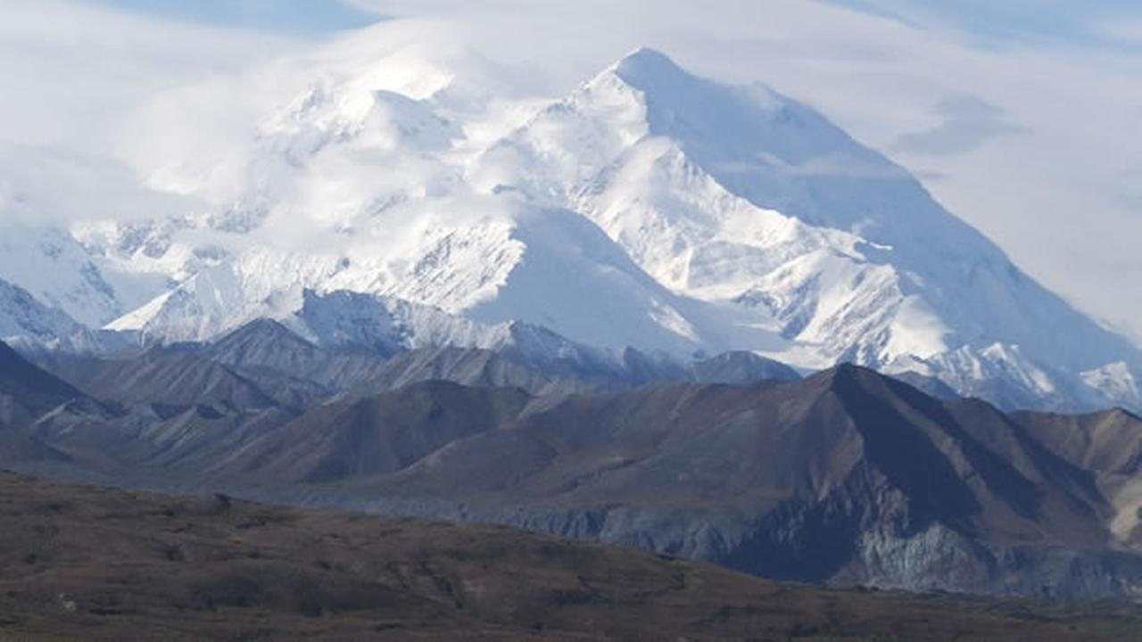 After several days of dreary weather, visitors were treated to this view of North Americas tallest peak, Mount McKinley, on Wednesday, Aug. 27, 2014, in Denali National Park.