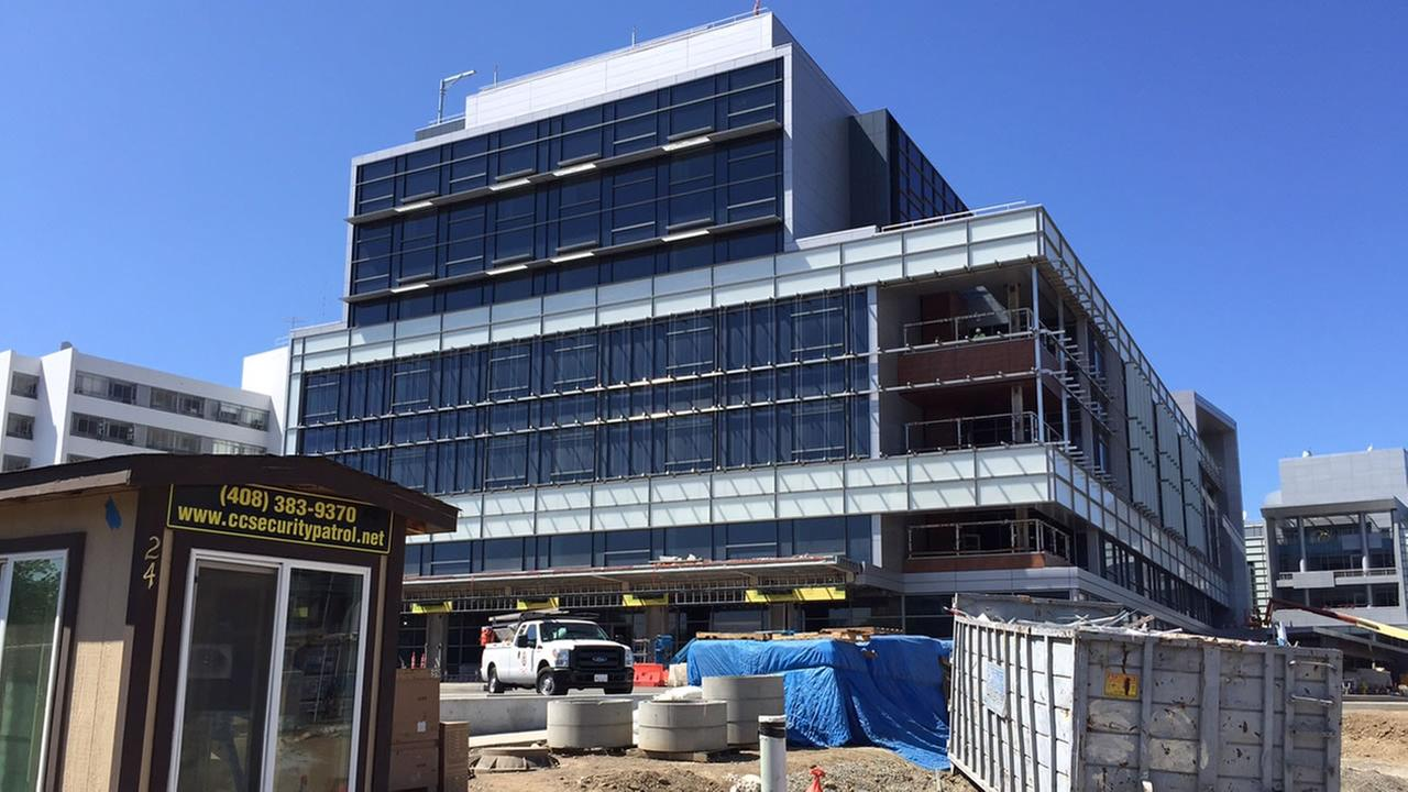 The new intensive car unit at the Santa Clara Valley Medical Center, which was supposed to open in 2013, remains under construction, August 31, 2015.