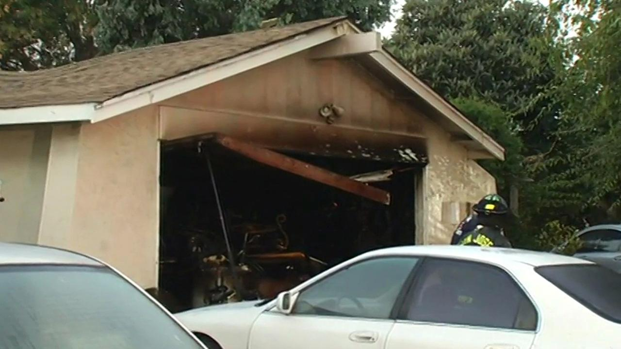 Fire at home in San Jose on Tuesday, September 1, 2015