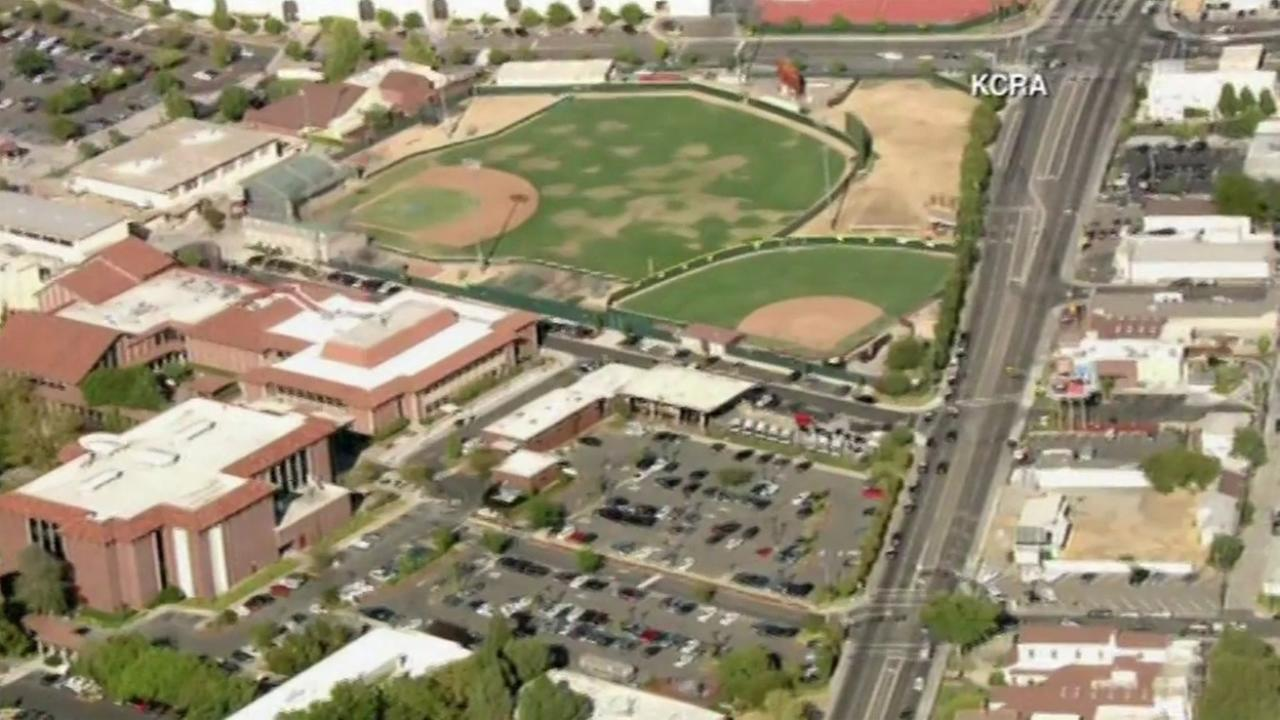 One person was fatally shot near the baseball field at Sacramento City College, Sept. 3, 2015.