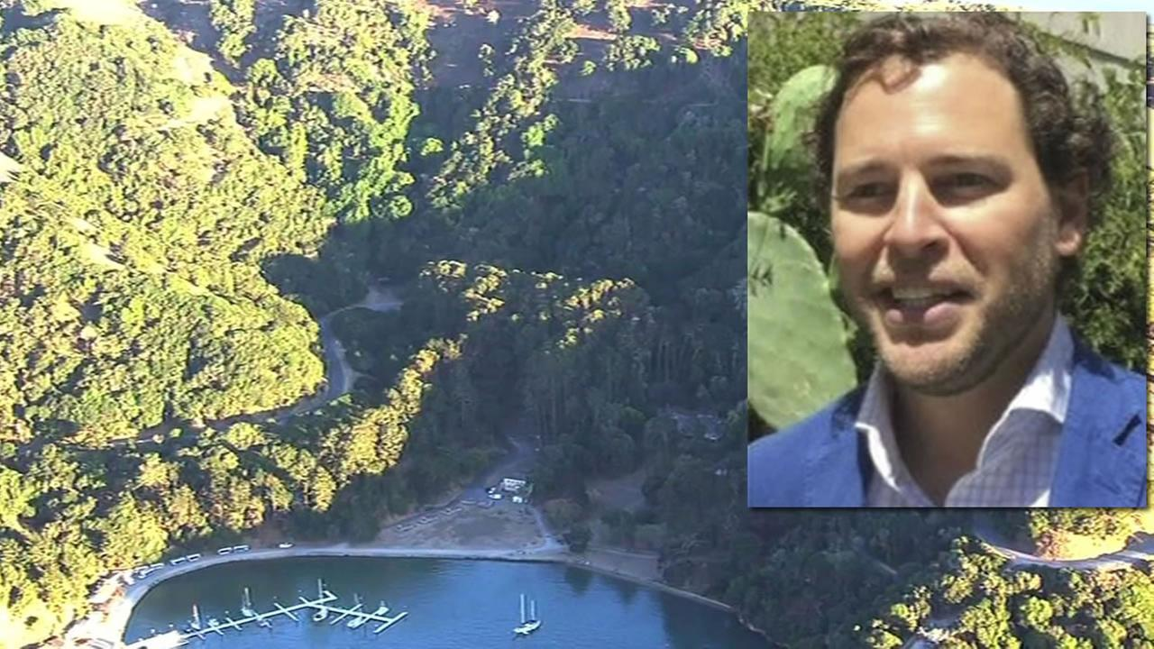 The Coast Guard is searching for 42-year-old Wouter Van Lier of San Francisco who was reported missing from Angel Island, Sept. 7, 2015.