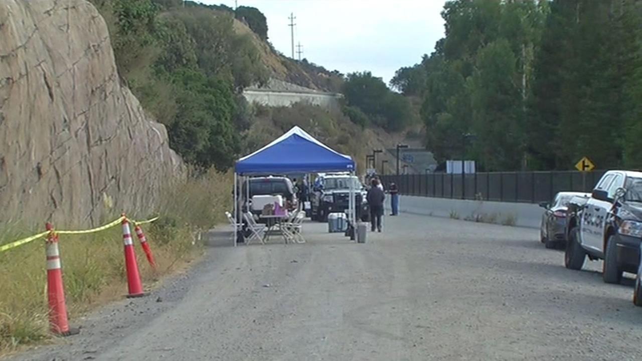 Marin County first responders practice a scenario involving a terrorist on Friday, September 11, 2015.