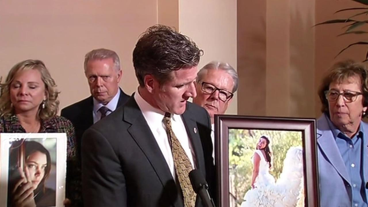 Dan Diaz, the widower of Brittany Maynard, spoke at news conference Friday, Sept. 11, 2015 after the state senate passed thr right-to-die legislation.
