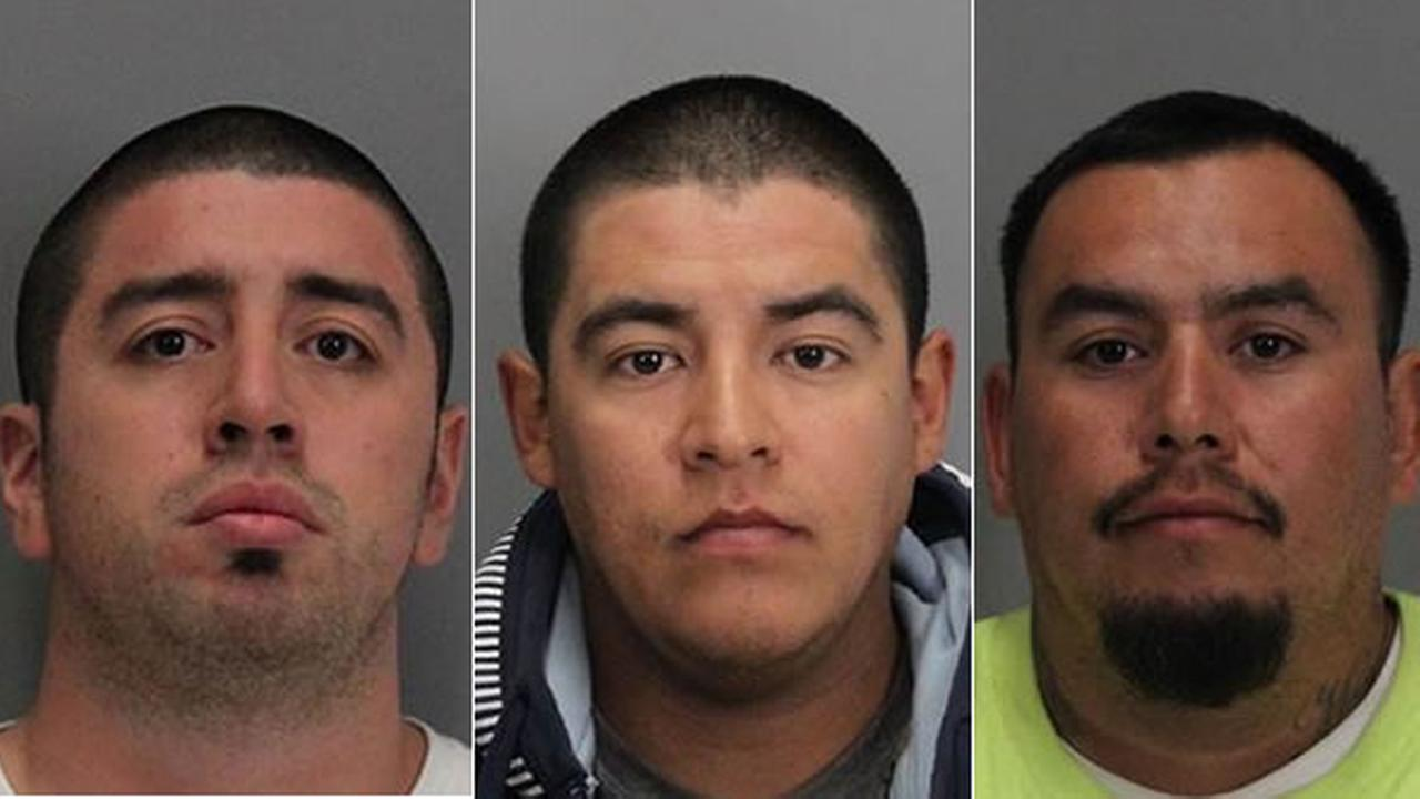 Santa Clara police arrested Eric Martinez, Juan Arias, Felix Chavira and a 17-year-old girl on Friday, September 18, 2015 for allegedly assaulting a Vikings fan after a 49ers game.