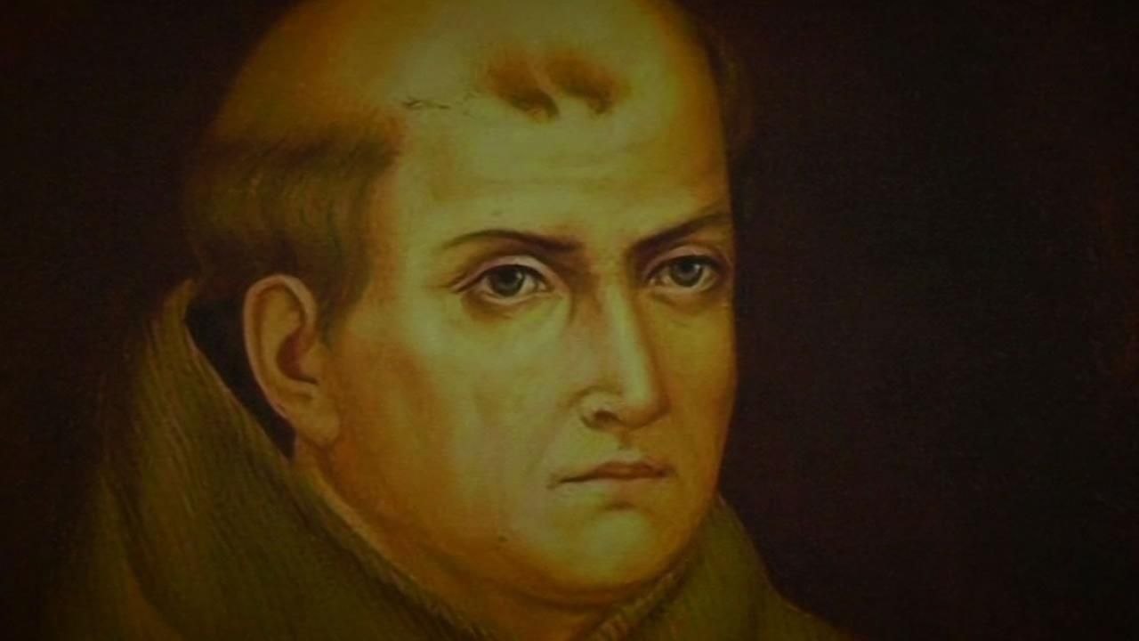 Father Serra oversaw the construction of the first nine missions from San Diego to San Francisco, all built by Native Americans.