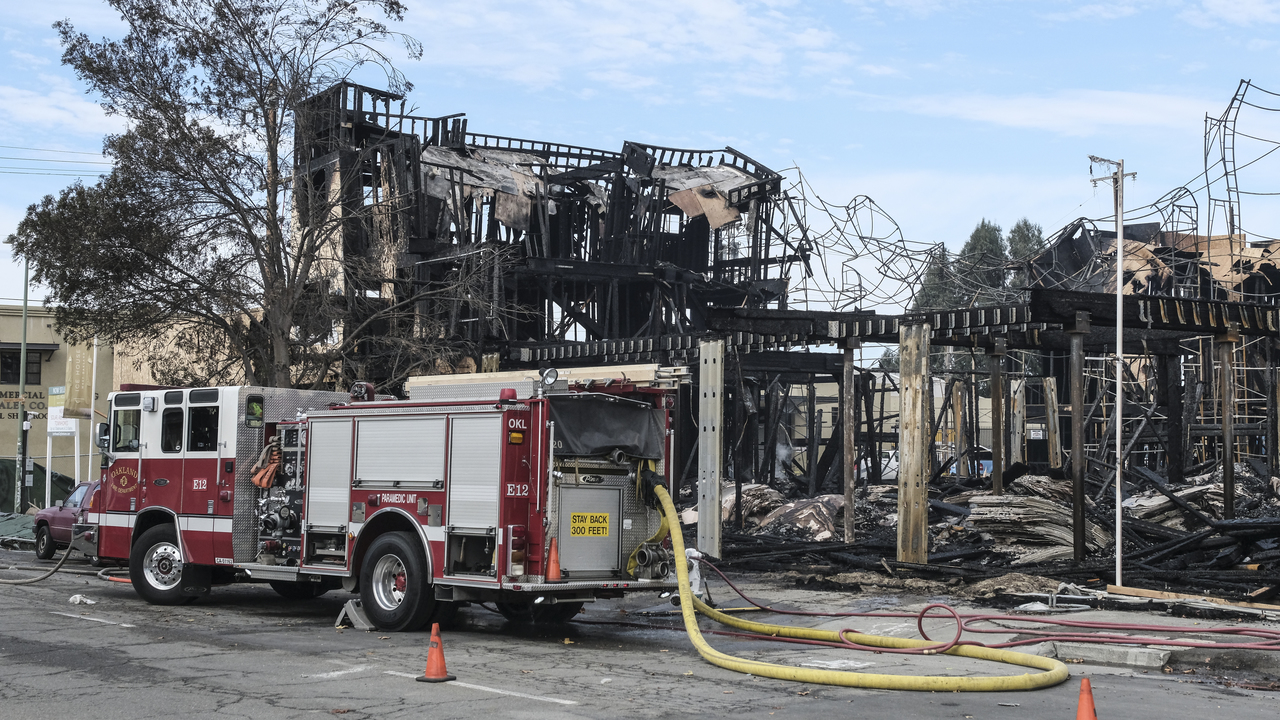 Tuesday mornings fire was the sixth at a major construction site since 2012 in Oakland, and the eighth in the East Bay.