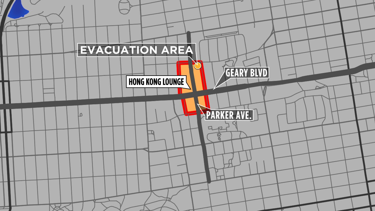 map  evacuation zone after gas explosion  3