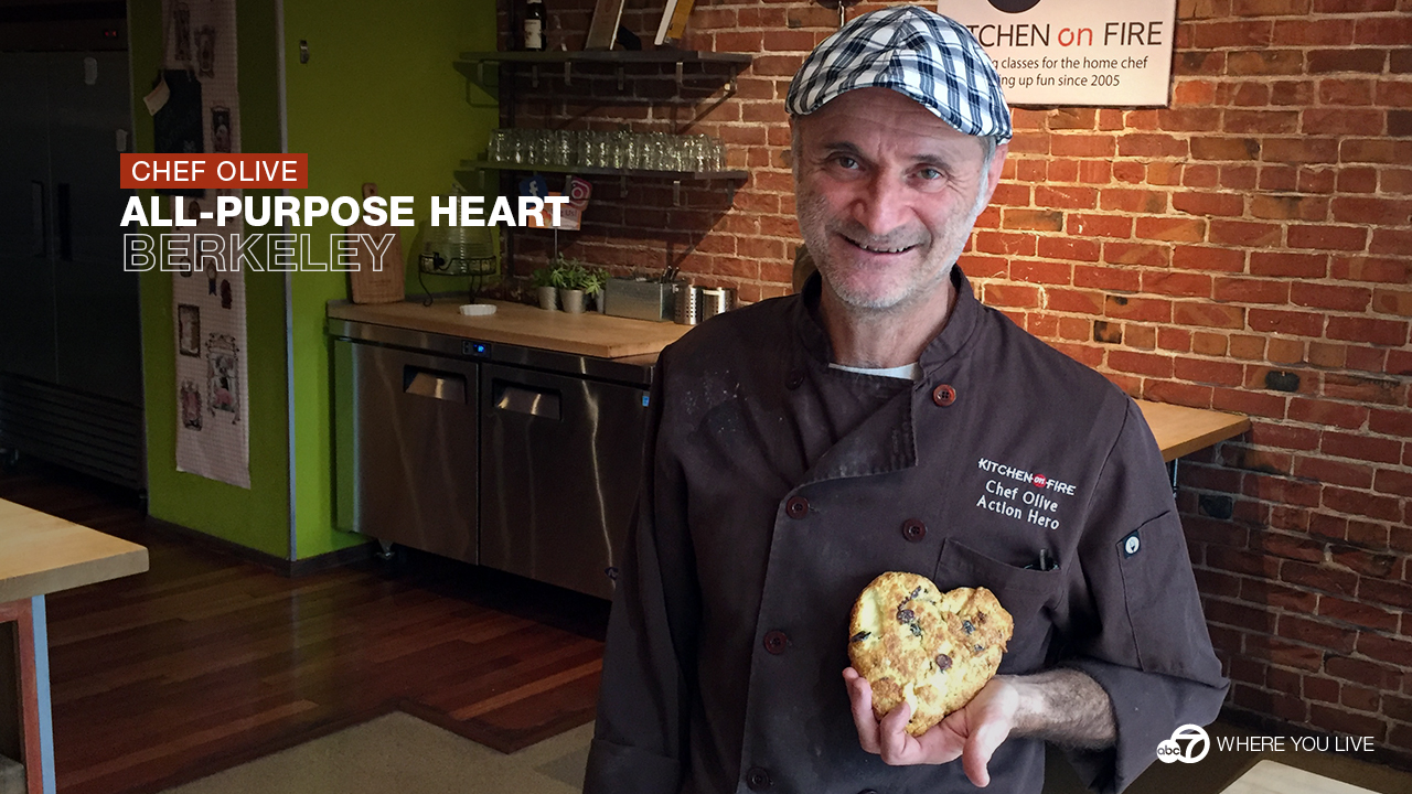 Chef Olive is an ABC7 Star whos changing lives one scone at a time.