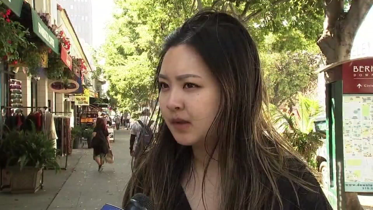 UC Berkeley student Christie Trinh speaks to ABC7 News on Sept. 21, 2018.