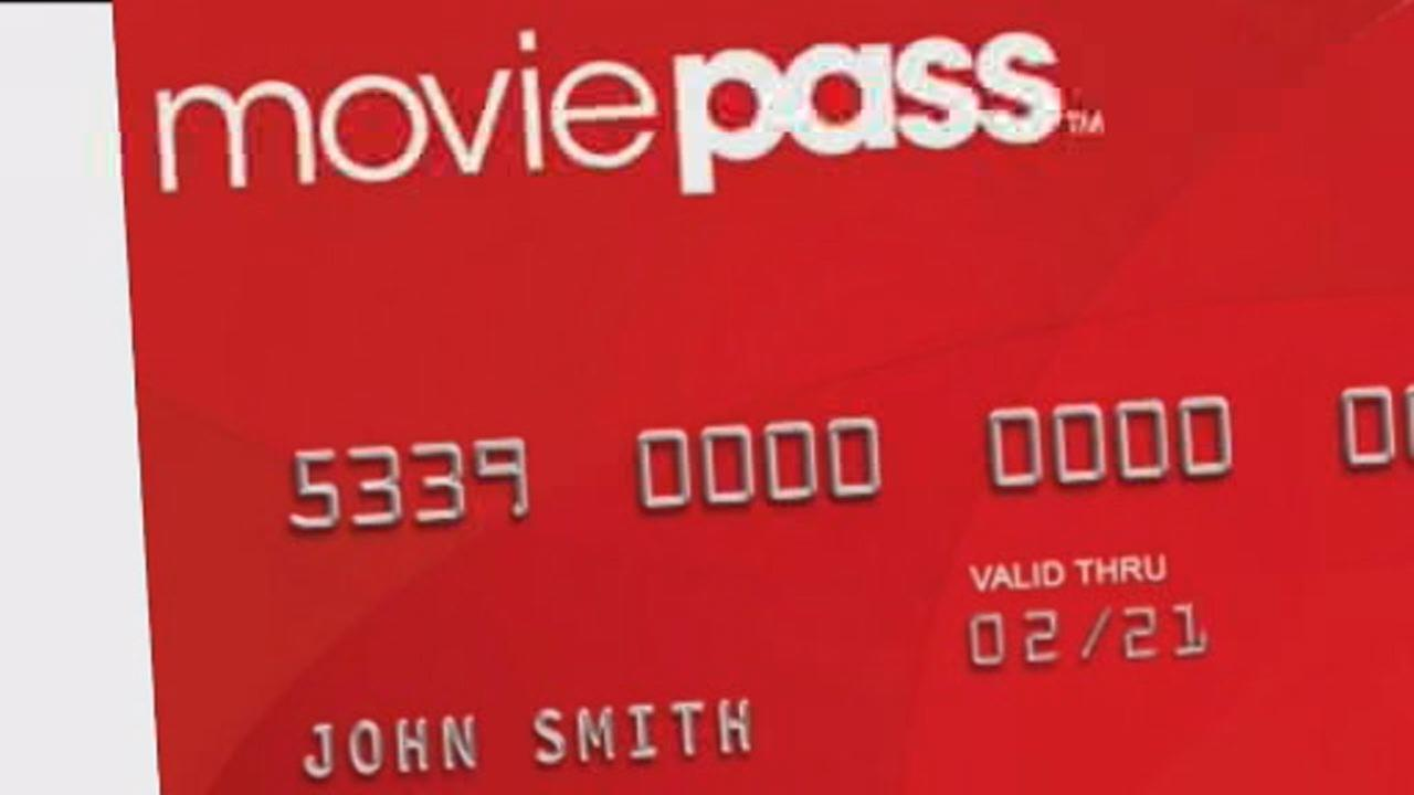 This undated image shows a MoviePass card. The company says its raising the price of its standard plan from $10 per month to $15.