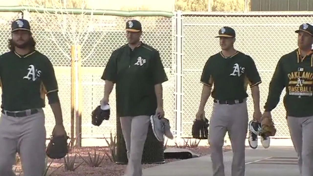 Athletics in uniform